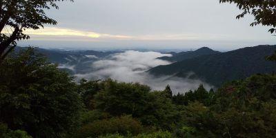 ケーブル御岳山駅の眺望