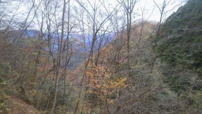 初冬の御岳山